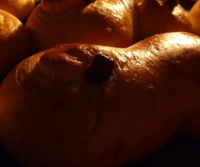 Luciabrød med speltmel