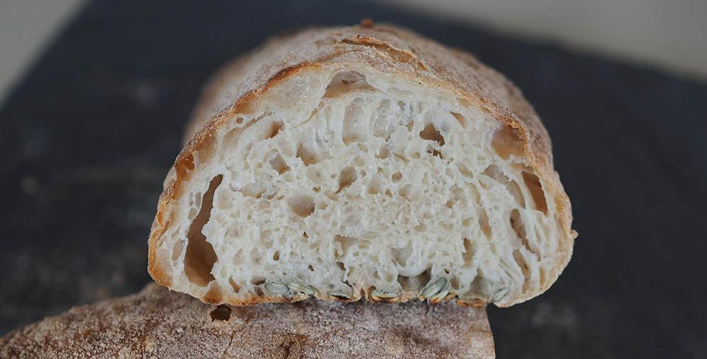 økoline sigtet speltmel brød struktur