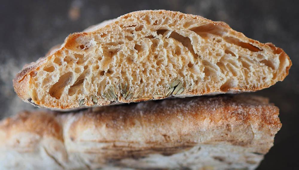 frydendahl sigtet speltmel brød struktur