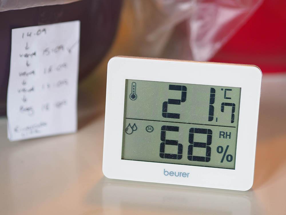 speltmel luftfugtighed temperatur
