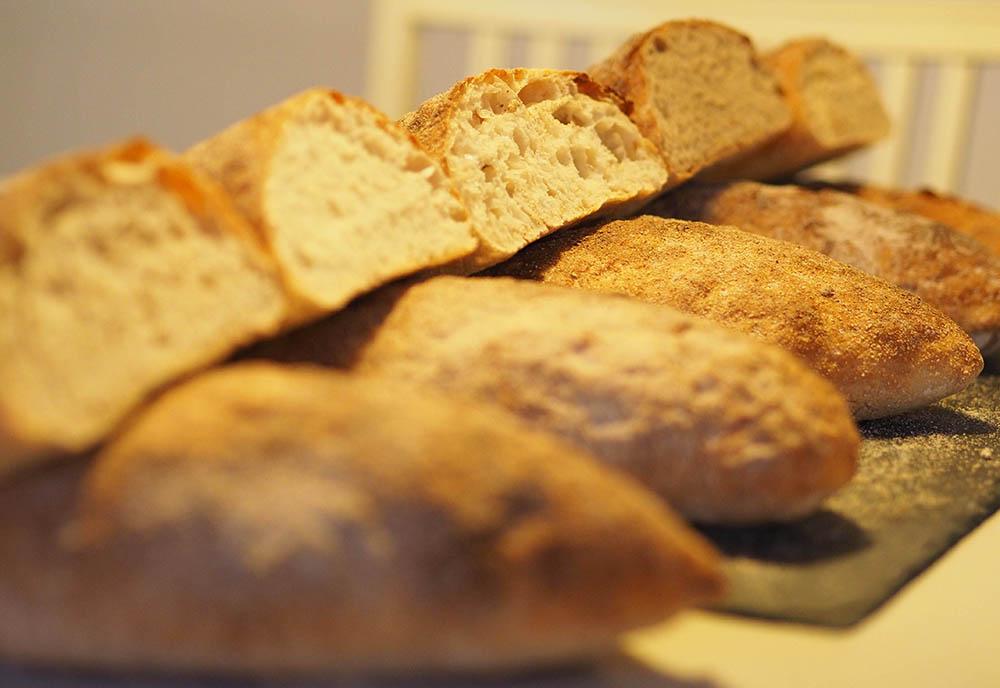 speltmel brødene